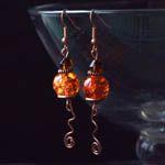 Artistic earrings