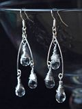 Artistic Silver Earrings