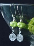 Artistic Glass Earrings